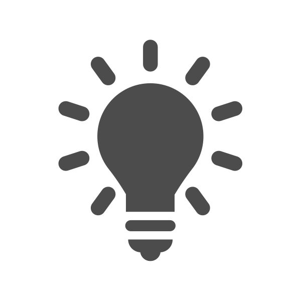Icon Light Bulb
